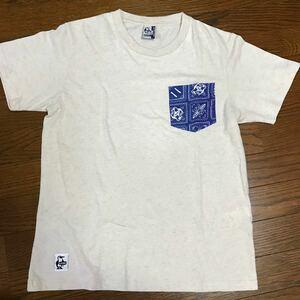 チャムス chums Tシャツ 混麻 S