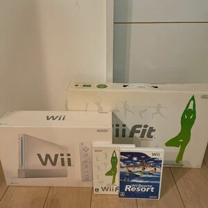 Nintendo Wii Wii Fit ソフトセット