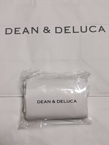 DEAN & DELUCA ミニマムエコバッグホワイト エコバッグ コンパクト 折りたためる 軽量 新品 公式サイト購入