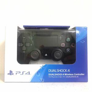 新品 未使用 未開封 PS4 DUALSHOCK4 ジェット ブラック Jet Black