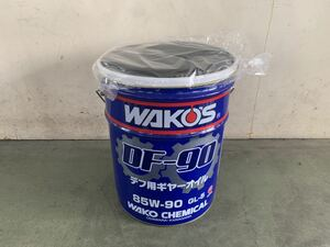 Waco's DF-90 new goods cushion attaching pail can empty 20L empty can waste basket chair thing inserting and so on