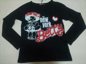 新品 Betty 長袖Tシャツ 140 ロングTシャツ ベティ 子供服 bloc ブロック