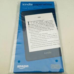 広告つき 8GB トワイライトブルー Kindle Paperwhite 防水機能搭載 未開封新品