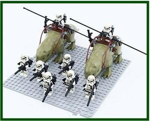 送料無料…LEGO レゴ ブロック 互換品 スター ウォーズ風 ミニフィグ デューバック & サンドトルーパー 10体セット