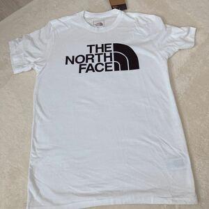 THE NORTH FACE ザノースフェイスハーフドームロゴプリントTシャツ 白 S 新品タグあり