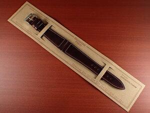 CBHC-09a ★新型★ アキュレイトフォルム ホーウィン クロムエクセル革ベルト レギュラー バーガンディ 16、17、18、19、20mm