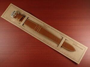 CBHC-06a ★新型★ アキュレイトフォルム ホーウィン クロムエクセル革ベルト レギュラー モカ 16mm、17mm、18mm、19mm、20mm、22mm