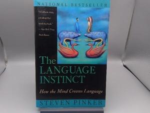 【洋書】 The Language Instinct STEVEN PINKER