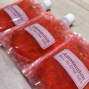アスタキサンチン オールインワンゲル オールインワンジェル お得な 詰め替え 3パック 美容 韓国コスメ スキンケア ボディケア