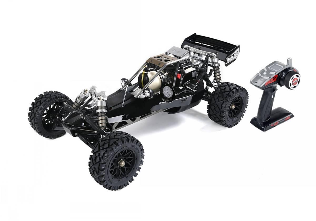 即納!1/5Baja エンジンRCカー Rovan Rofun Baja450A ブラック<完成品>ROVANSPORTS代理店出品