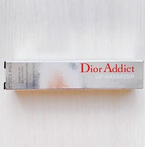 【新品未使用】Dior リップグロス ディオールアディクトリップ マキシマイザー 001