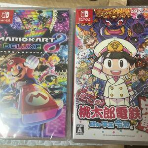 桃太郎電鉄+マリオカート8デラックス Nintendo Switch 新品未開封