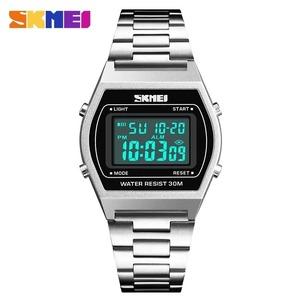 メンズ腕時計トップブランドの高級 Skmei 有名な LED デジタル腕時計男性用時計腕時計男性ヘレン
