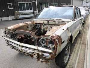 Nissan Skyline Hakosuka GC10 document none part removing body only .. pick up