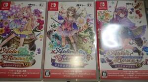 Nintendo Switch アトリエ 5本セット