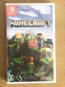 Switch マインクラフト Minecraft シュリンク付新品未開封