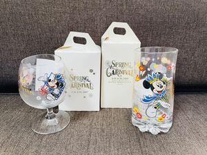 東京ディズニーリゾート コレクタブルグラス ディズニーシー ホテルミラコスタ スプリングカーニバル 2007 2008 未使用