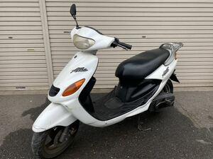ヤマハ グランドアクシス 100 2サイクルスクーター SB06J パールホワイト 現状販売 レストアベース 2スト YAMAHA 部品取り 実働車