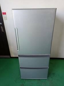 AQUA/アクア/ノンフロン冷凍冷蔵庫/272L/3ドア/2016年製/AQR-271E(S)/付属品は写真で全て/0923h2
