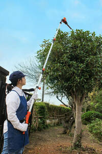 """Pruning trimmer arrives up to 3M <YARD FORCE> """"3M Pruning Pole Balikan"""" [S-Rank Used]"""