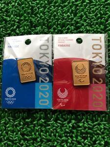 東京オリンピック ゴールドバー ピンバッジ ピンズ パラリンピック