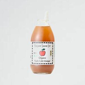 新品 目玉 アップルサイダ-ビネガ- オ-ガニック 4-XV 100%天然 ブラウンシュガ-ファ-スト) 300ml (有機 りんご酢 無添加