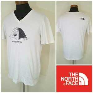 L【THE NORTH FACE/ノースフェイス】MENS/メンズ 男性用 トップス 半袖 Vネック Tシャツ アウトドア マウンテン クライミング ボルダリング