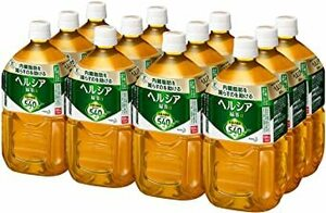 [訳あり(メーカー過剰在庫)]1.05L×12本 [トクホ] [訳あり(メーカー過剰在庫)] ヘルシア 緑茶 1.05L &ti