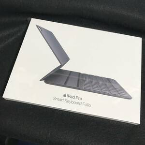 【新品/未開封】Apple iPad Pro 11インチ Smart Keyboard Folio-British[MU8G2BQ/A]★スマートキーボード フォリオ★ 0920a
