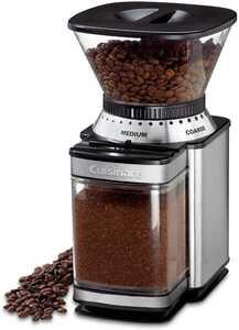 送料無料! クイジナート コーヒーグラインダー 豆挽き Cuisinart (コーヒーミル 18段の粗さ調整 自動停止 エスプレッソ )
