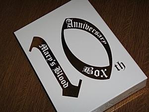 Blu-ray/Mary's Blood 10th Anniversary Box/メアリーズブラッド/MaryBlood/Mary'sBlood/BD/ブルーレイ