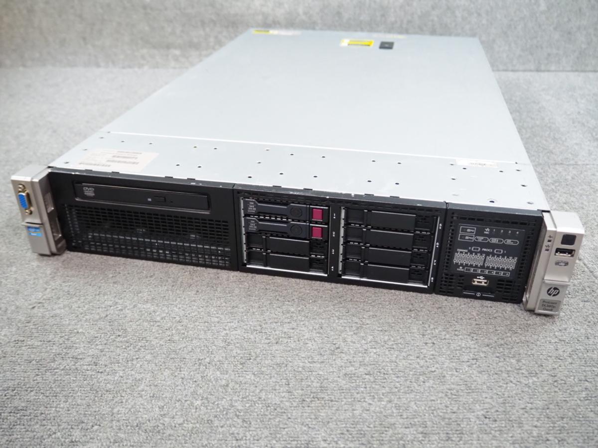 [1] ☆ 8コア!×2個!高性能サーバー ☆ hp ProLiant DL380p Gen8 8C Xeon E5-2670 2.60GHz×2/32G(8G×4)/300GB×2/RAID (P420i) ☆