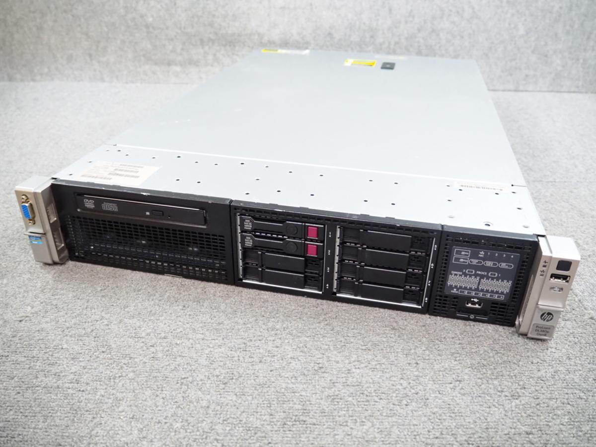 [H] ☆ 8コア!×2個!高性能サーバー ☆ hp ProLiant DL380p Gen8 8C Xeon E5-2690 2.90GHz×2/32G(4G×8)/300GB×2/RAID (P420i) ☆