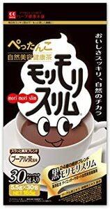 165g(5.5gティーバッグ×30包) ハーブ健康本舗 黒モリモリスリム (プーアル茶風味) (30包)