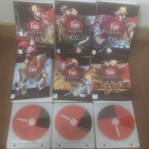 fate EXTRA Last Encore DVD全巻セット