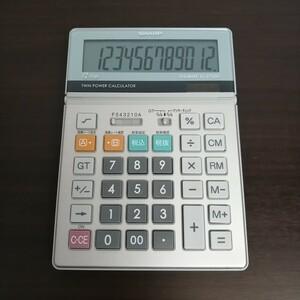 シャープ SHARP 電卓 経理仕様電卓 12桁 【送料無料】