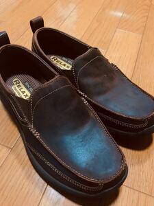 【新品未使用】スケッチャーズ メンズ 革靴 スニーカー カジュアルシューズ スリッポン ビジネスシューズ