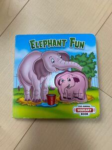 English 英語絵本 英語 絵本 洋書  elephant fun