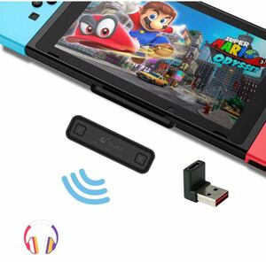 Nintendo Switch Bluetoothオーディオアダプター ニンテンドースイッチブルートゥースイヤホン