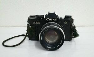 ジャンク Canon AE-1 FL 50mm 1:1.4 カメラ 一眼レフ キャノン 動作未確認 中古 #1000