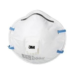 ロ長020228-2W4定#ヨ(17)/3Mマスク 呼吸が楽 排気弁付防塵 8805 N95同等10枚 DS2 レギュラー国家検定合格品 性能95%以上