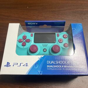 PS4 ワイヤレスコントローラー(DUALSHOCK4) ベリー・ブルー