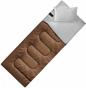 JPDeal 寝袋 シュラフ 封筒型 軽量 保温 210T 防水 1.0kg 1.4kg