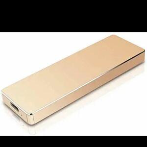 金 外付けHDD 1TBハードディスクポータブルHDD USB3.1/TypeC