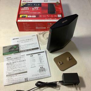 バッファロー 無線LANルーター WSR-5400AX6S-MB