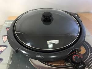 ホットプレート EUPA お好み焼き鉄板 焼肉プレート TSK-232GP これからの季節に是非!! 90900207