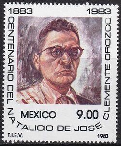 ★☆★ 美しい切手 メキシコ 1983  ホセ・クレメンテ・オロスコ生誕100周年 1種完 未使用 NH ★☆★