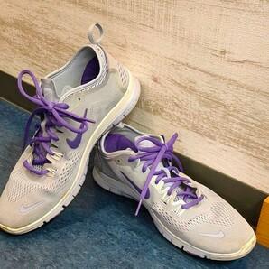 Nike レディース Free 5.0 TR Fit 4 641875-500 パープル ランニングシューズ サイズ7.5
