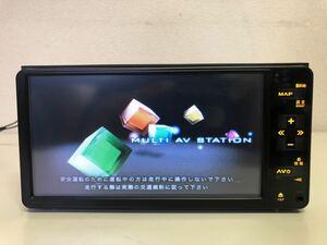 Bluetoothオーディオ対応 ★ トヨタ純正 HDDナビ NHDT-W60G DVDビデオ再生・CD録音再生・ワンセグTV 動作品 本体のみ R03091101 訳あり