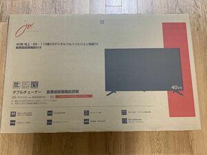 ★☆ 40型 液晶テレビ SW40TVW 新品 未使用 joyeux 地上デジタル BS CS ハイビジョン外付HDD対応 HDMI LED 40インチ 40V 43V 43型 43インチ